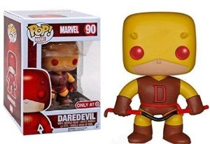 Funko Pop Daredevil (Demolidor) Yellow Classic Exclusivo