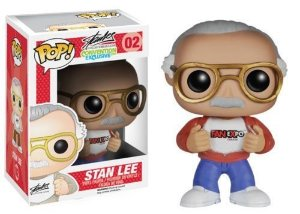 Funko Pop Stan Lee Red and Blue Exclusive
