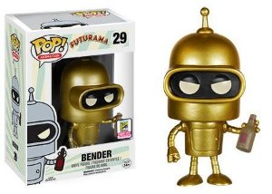 Funko Pop Exclusivo SDCC 2015 Bender Pronta Entrega
