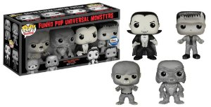 Set Funko Pop Exclusive Gemini Universal Monsters