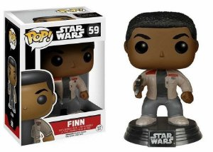 Funko Pop Star Wars Episode VII Finn Pronta Entrega