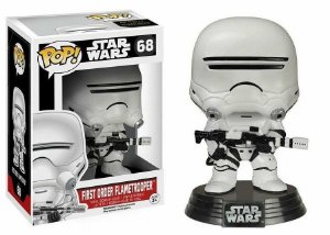 Funko Pop Star Wars Episode VII 1st Order Flametrooper Pronta Entrega