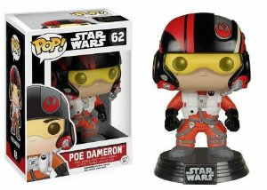 Funko Pop Star Wars Episode VII Poe Dameron Pronta Entrega