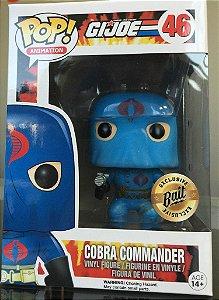 Funko Pop G.I. Joe Hooded Comandante Cobra Bait Exclusive Pronta Entrega