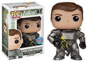Funko Pop Fallout Power Armor Unmasked Exclusivo Nycc