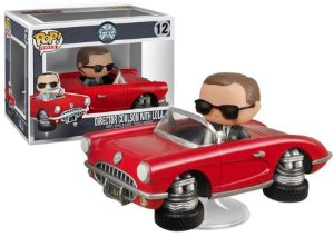 Funko Pop Diretor Coulson e Lola Marvel Agent Shield