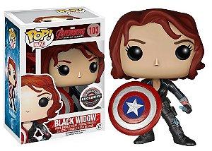 Funko Pop Black Widow Avangers Gamestop Exclusive