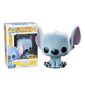 Funko Pop Disney Stitch Flocked Exclusivo Hot Topic
