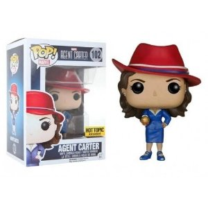 Funko Agent Carter with Nitramene Bomb Exclusive Hot Topic