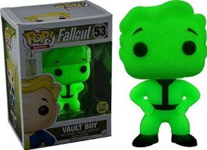 Funko Pop Fallout Vault Boy Glows in Dark Exclusive