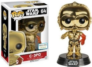 Funko Pop Star Wars C-3PO Exclusive Chrome