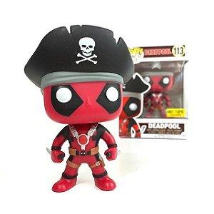 Funko Pop Deadpool Exclusivo Hot Topic Pirata