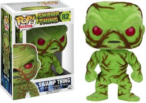Funko Pop Flocked Swamp Thing DC Exclusivo