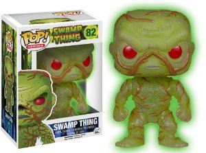 Funko Pop Swamp Thing Exclusivo Glows in Dark