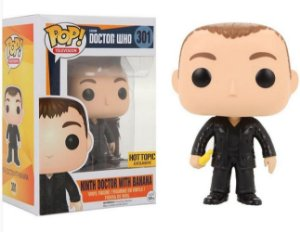 Funko Pop Tenth doctor with banana Exclusivo Hot Topic