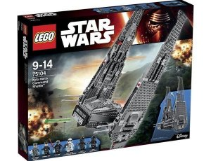 Lego 75104 Star Wars Transporte do Comandante Kylo Ren's Episodio VII