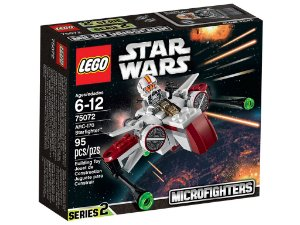 Lego 75072 - Star Wars Arc-170 Starfighter Microfighter
