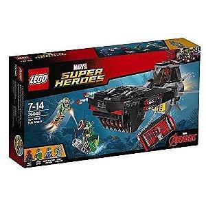 Lego Super Heroes - Ataque Submarino Caveira De Ferro 76048