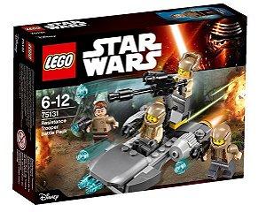 Lego 75131 Star Wars Pack De Combate Da Resistência