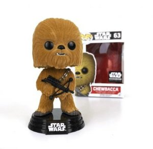 Funko Pop Exclusivo Star Wars Chewbacca Flocked