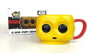 Funko Caneca Oficial Exclusiva Star Wars C-3PO