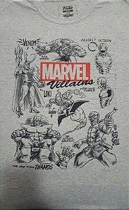 Camiseta Funko Linha Marvel Vilões exclusiva