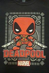 Camiseta Funko Linha Marvel Deadpool Vermelho Exclusiva