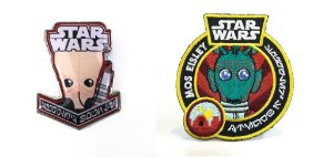 Funko Pin e Emblema Tecido Star Wars Cantina Exclusivo