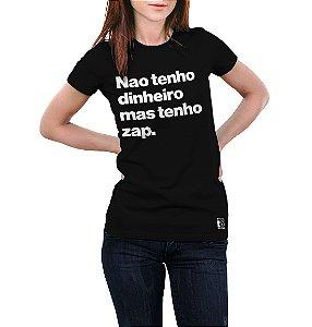 NÃO TENHO DINHEIRO, MAS TENHO ZAP