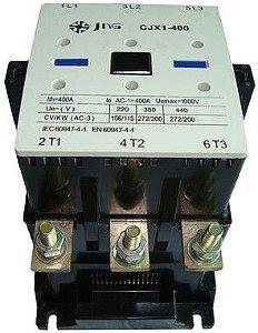 CONTATOR DE POTÊNCIA (3TF56) CJX1B-400 165CV/400A- 220V Jng