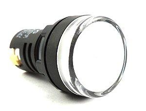 SINALEIRO LED BRANCO 220V AD16-22DW Jng AL3Gv18