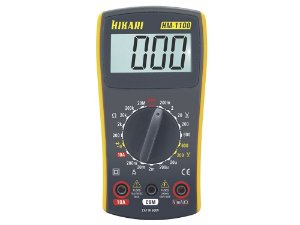 MULTIMETRO DIGITAL HM-1100 CAT III 600V Hikari