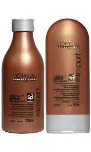 Loreal Absolut Repair Pós-Química Shampoo Condicionador Kit