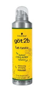 Got2b Fat-tastic Thickening Mousse Volume p/ Finos - 245ml