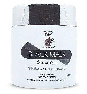 NP Hair Black Mask Ojon Hidrata e Tonaliza Escuros - 500g