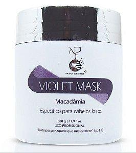 NP Hair Violet Mask Hidrata e Desamarela Loiros - 500g