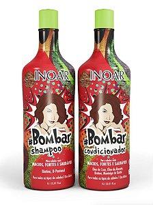 Inoar Bombar Litro Kit Duo Profissional 2x1L +Brinde