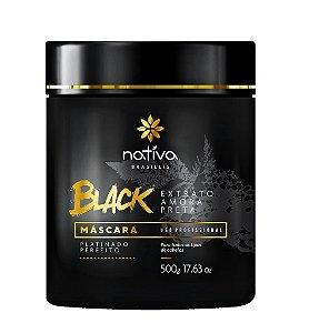 Nativa Mascara Black Matizadora Platinado 500g (+brinde)