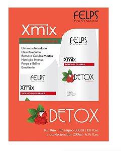 Felps Xmix Kit Duo Detox Extrato de Guaraná - 2 Produtos