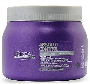 Loreal Absolut Control Máscara p/ Rebeldes c/ Frizz 500g