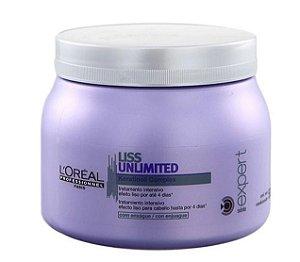 Loreal Liss Unlimited Mascara p/ Rebeldes e Frizz - 500g