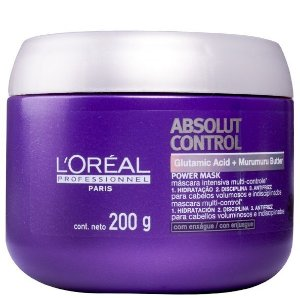 Loreal Absolut Control Máscara p/ Rebeldes c/ Frizz 200g