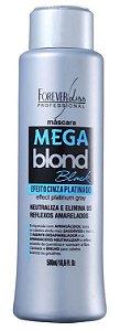 Forever Liss Mega Blond Black Máscara Matizadora 500ml (+brinde)