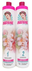 Escova Progressiva Madame Hair Liss Kit 2x1L (+Brinde)