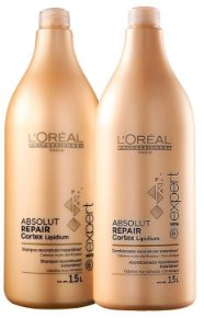 Loreal Absolut Repair Kit Shampoo e Condic Profissional  - 2 x 1.5L