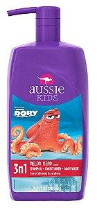 Aussie Kids Dory Melon Head  Shampoo 3 Em 1 - 865ml