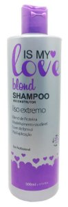 Is My Love Blond Shampoo que Alisa para Loiras - 500ml