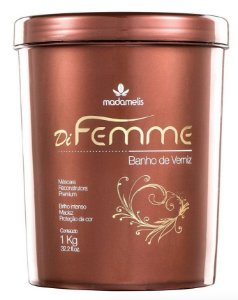 Madame Lis Banho de Verniz Di Femme 1Kg +Brinde