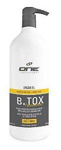 B.Tox Capilar Liquido Treatment Argan One Professional 1L (+ Brinde)