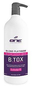 B.Tox Capilar Liquido Silver Platinum One Professional 1L (+Brinde)